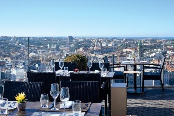 Hotel Dom Henrique no centro do Porto