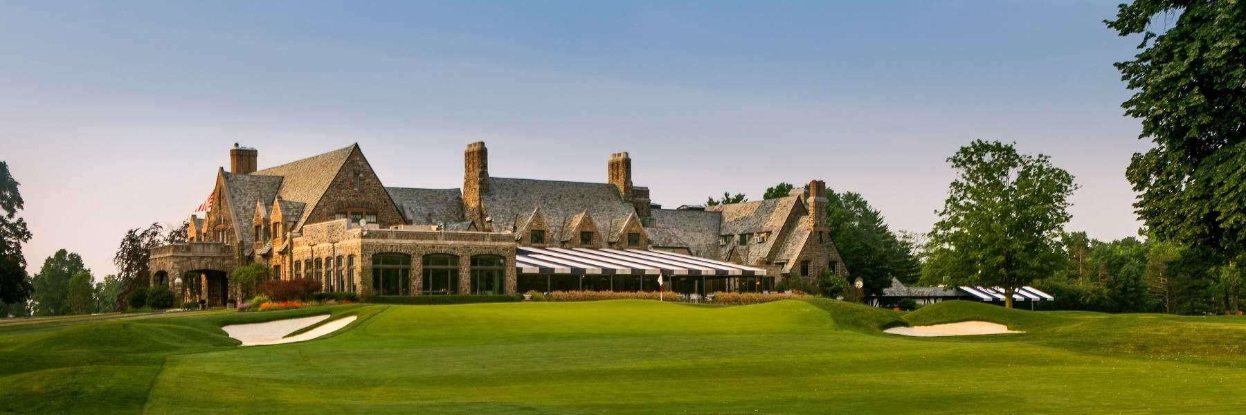 Winged Foot Golf Club no Mamaroneck-New York