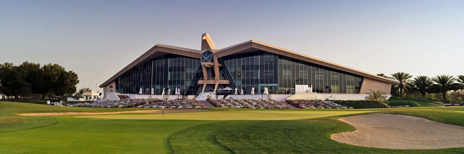 "Abu Dhabi Golf Club ""The Home of Champions"" e vai receber a ""world's elite"" apenas duas semanas antes do Pro-Am"