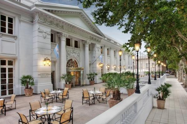 O Park Hyatt hotel um dos melhores hotel em Mendoza
