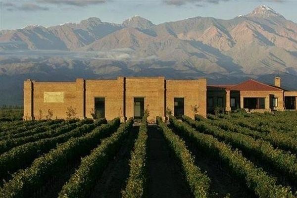 Vinicola Andeluna perto de Mendoza