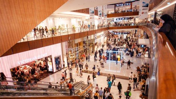 Shopping mall no Dubai