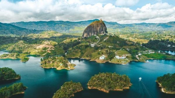 Guatape é um dos lugares mais bonitos de Antioquia / Colômbia