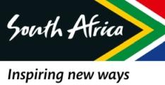 O Logo do Africa do Sul turismo