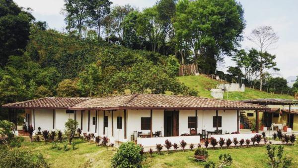 O cafe no fazenda capilla de Rosario