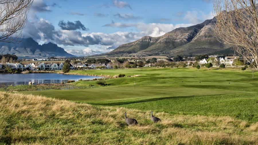 O De Zalze Golf Resort é perfeito para famílias