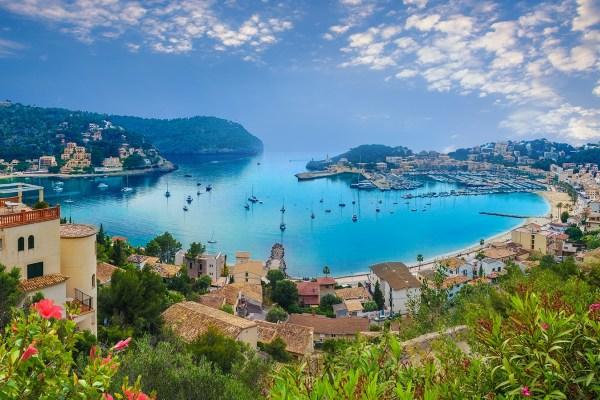 A ilha Maiorca tem maravilhosas vistas do mar