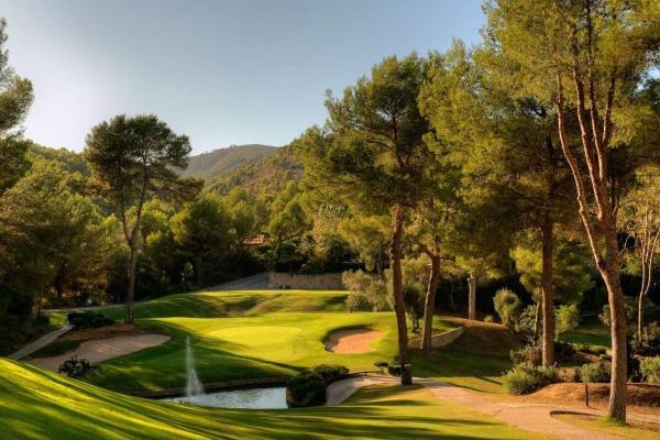 Son Vida Golfclub no ilha Maiorca em Espanha