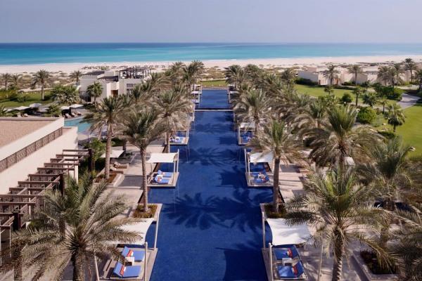 O Park Hyatt Hotel no Abu Dhabi