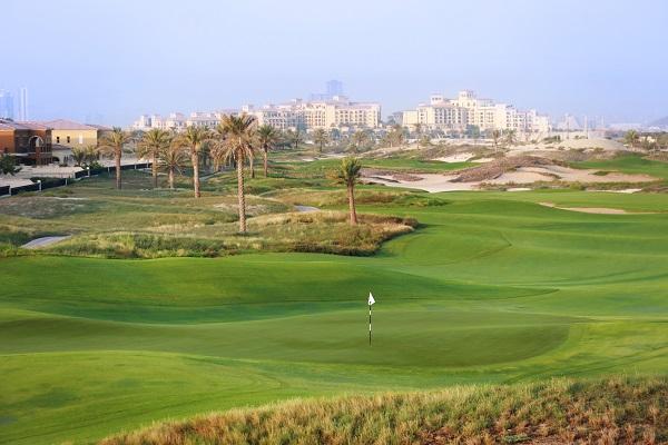 Abu Dhabi Saadiyat golf course