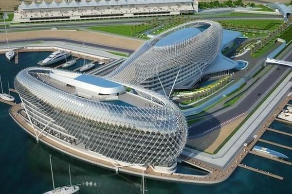 Viceroy Yas hotel no Abu Dhabi