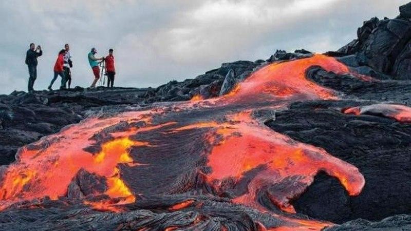 havai volcano uma aventura
