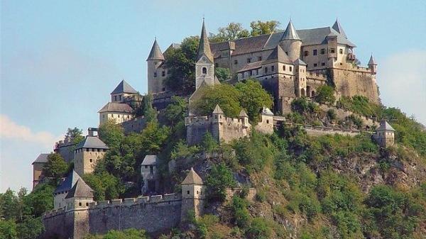 castelo Hochosterwitz no Carintia Austria