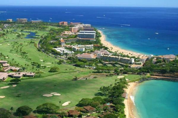 kaanapali kai golfcourse havai