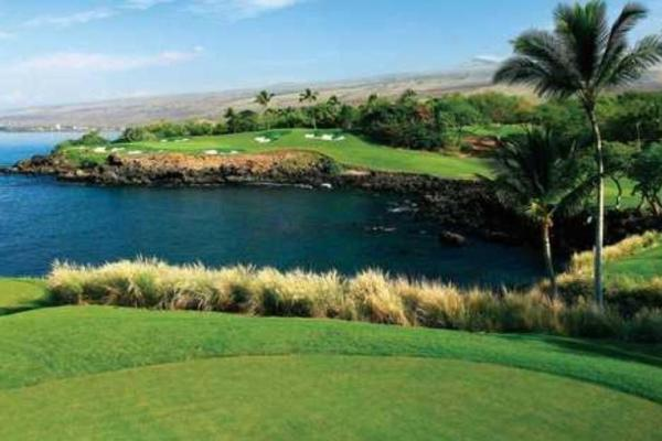 O Mauna kea golf course no havai