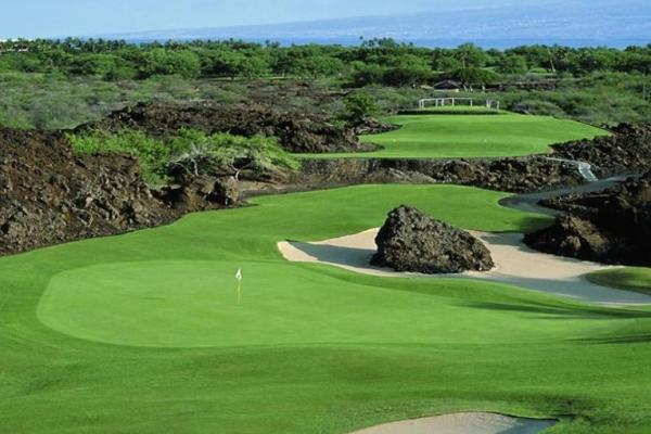 O Mauna Lani north golf course