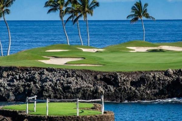 O Mauna Lani south golf course