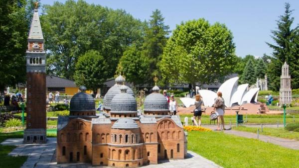 Minimundus Klagenfurt ao redor do mundo em um dia