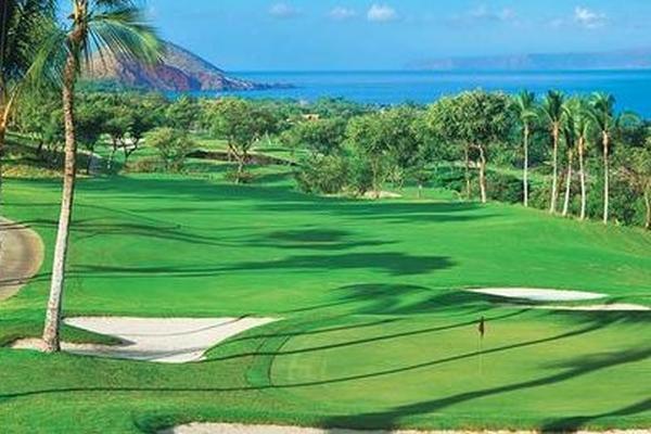 O royal kaanapali golf course no havai