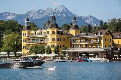 Schlosshotel Velden no Woerthersee / copyright Falkenstein Hotel