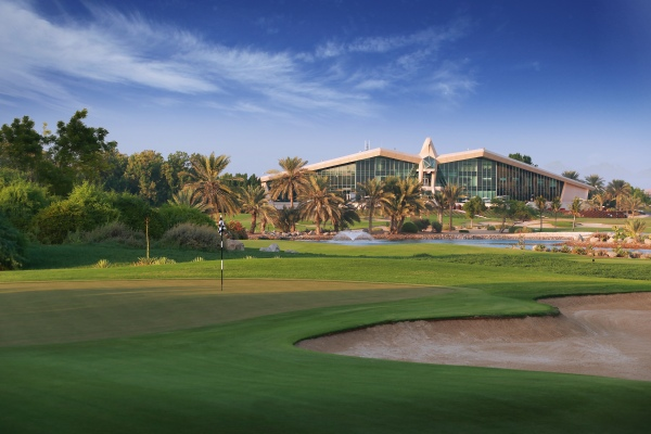 Clubhouse do Abu Dhabi Golfclub
