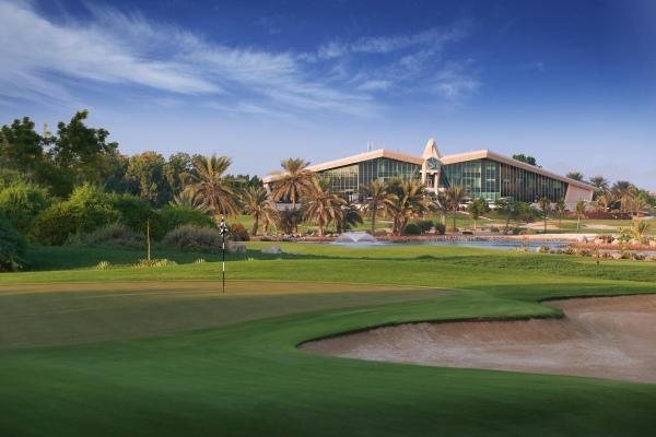 Clubhouse do Abu Dhabi Golfclub