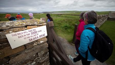 o village Skara Brae tem 5mil anos