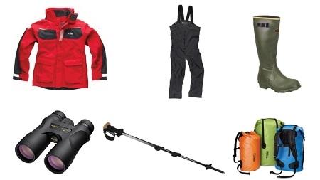 Incluir roupas e botas para os expedições