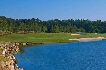 KIng & Bear Golfclub perto do St. Augustine