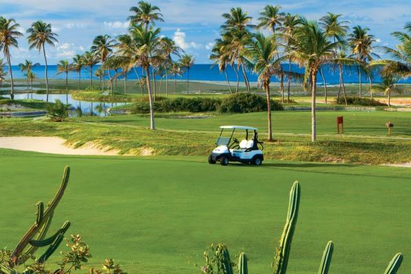 O Ocean e Dunes Golf course no Aquiraz