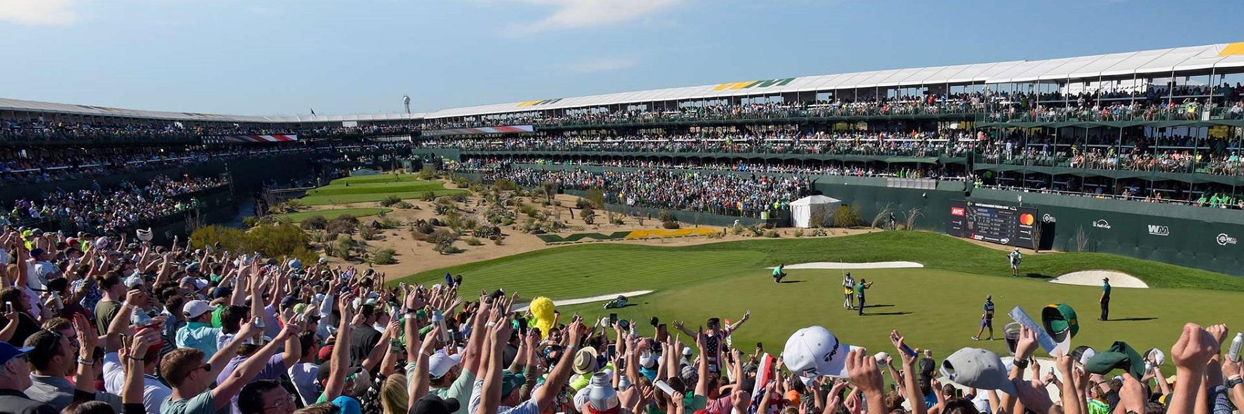 "O Phoenix Open no Scottsdale Arizona esta o ""People-Open"""