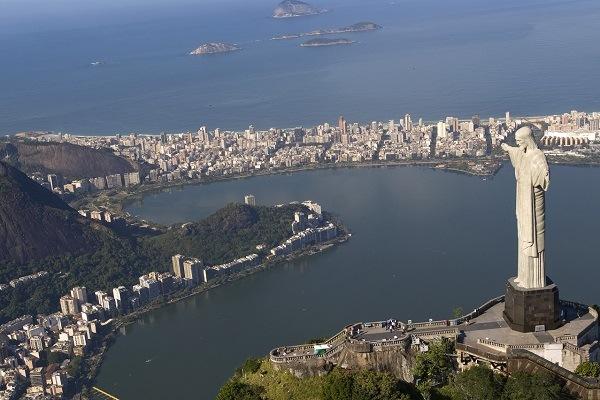 Rio de Janeiro com Leblon e Lagoa