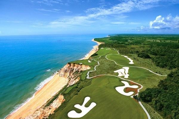 Campo de golfe da Terravista perto do Trancoso