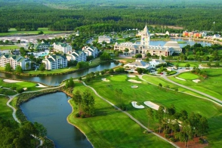 O World Golf Village com Hall of Fame