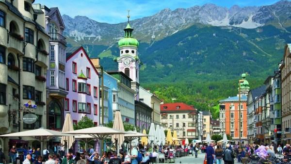 Innsbruck em verao