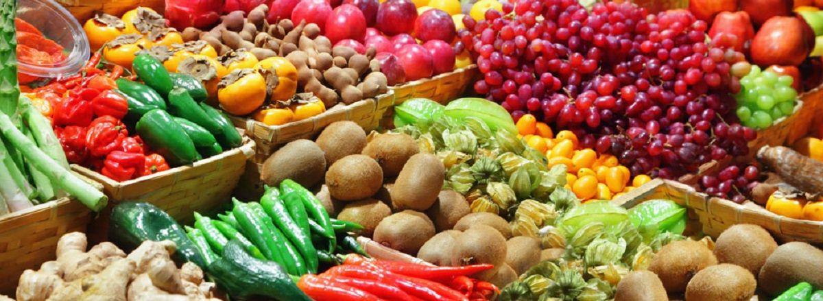 Mercado culinario na Austria