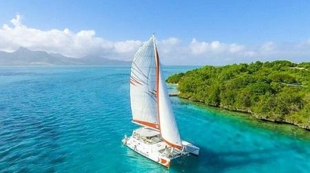 Cruzeiro catamaran Ilha Maurícia