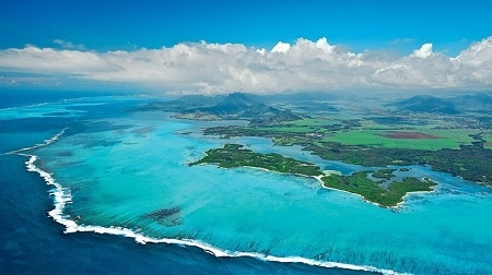 Bernhard Langer design no Ilha Mauricia