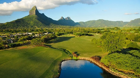 Tamarina golf club na ilha Maurícia