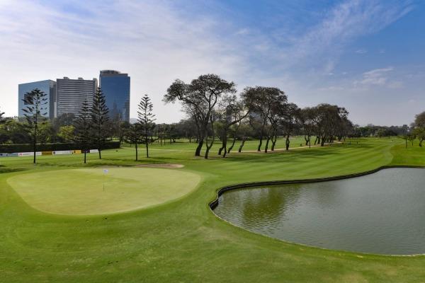 Los Inkas um campo de golfe no Lima