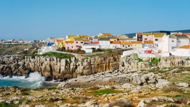 Peniche uma cidade popular para surfistas