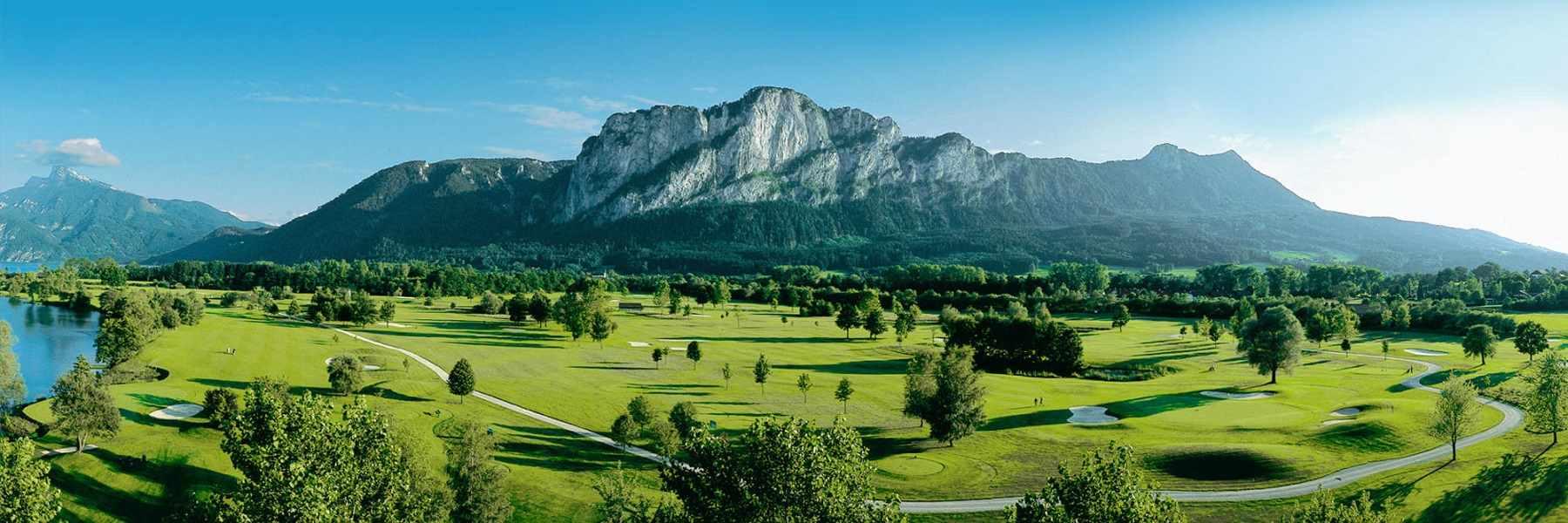 Leading golf course Golfclub Mondsee