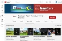 The youtube channel from teamtoursbrasil