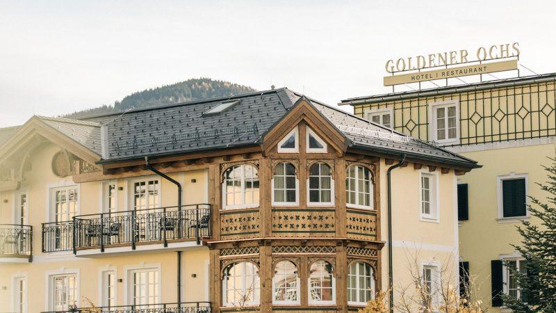 Hotel Goldener Ochs em Bad Ischl - viagem na Austria