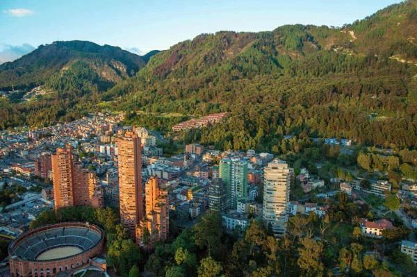 Bogotá o capitol da Colombia