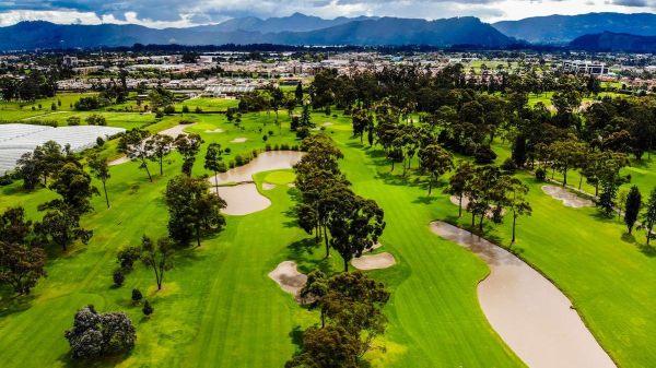 El Rincon Golf Clube perto de Bogota / Colombia