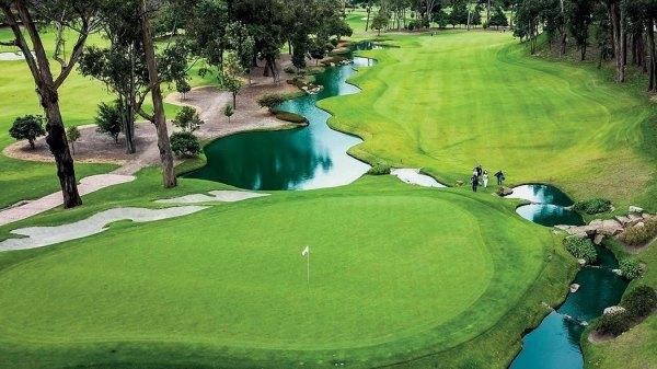 Los Lagartos Club com campo de golfe em Bogotá