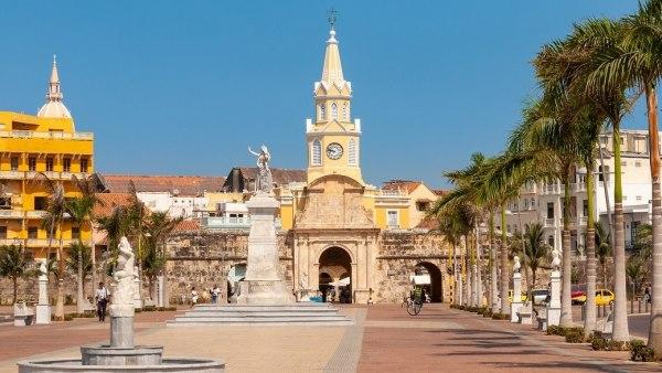 o historic centro de Cartagena - Colombia