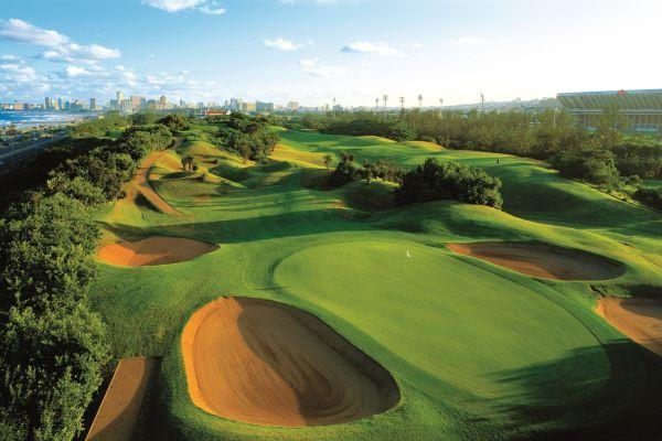 O Durban Country CLub é um dos clubes de golfe mais antigos da África do Sul