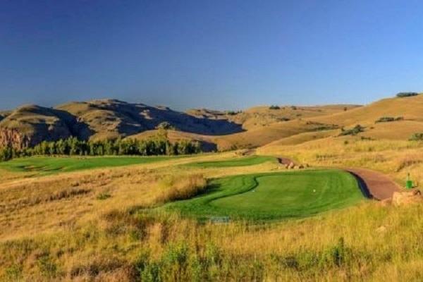 O Highland Gate Golf perto de Dullstroom na montanha Steenkampsberg